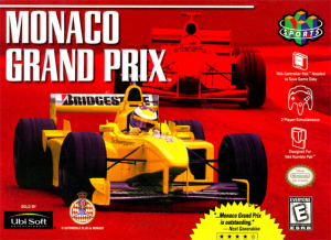 Monaco Grand Prix sur N64