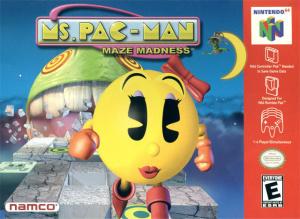 Ms. Pac-Man : Maze Madness sur N64