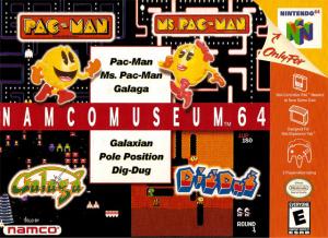Namco Museum 64 sur N64
