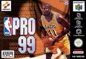 NBA Pro 99 sur N64
