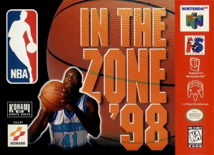 NBA in the Zone '98 sur N64