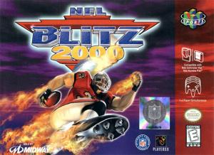 NFL Blitz 2000 sur N64