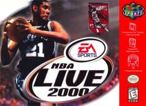 NBA Live 2000 sur N64