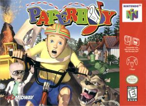 Paperboy sur N64