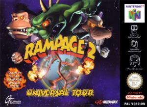 Rampage 2 : Universal Tour sur N64