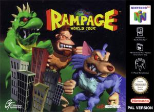 Rampage : World Tour sur N64