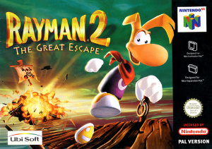 Rayman 2 : The Great Escape sur N64