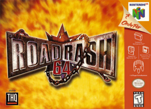 Road Rash 64 sur N64