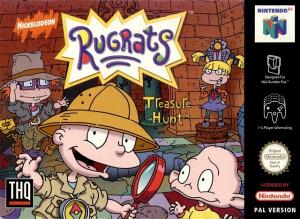 Les Razmoket : La Chasse aux Trésors sur N64