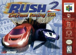 Rush 2 : Extreme Racing USA sur N64