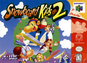 Snowboard Kids 2 sur N64