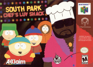 South Park Chef's Luv Shack sur N64