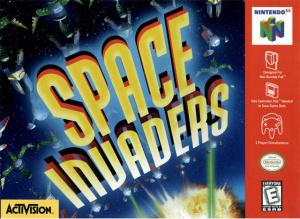 Space Invaders sur N64