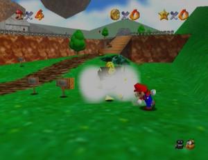 1er - Super Mario 64 / Nintendo 64-Wii (+ un remake sur DS) (1997)