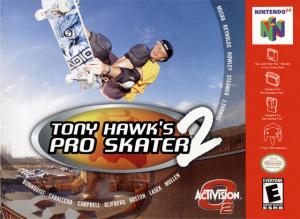 Tony Hawk's Pro Skater 2 sur N64