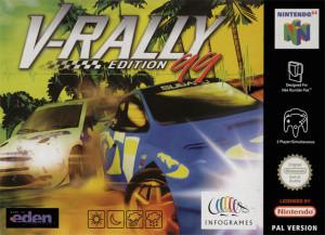 V-Rally 99 sur N64