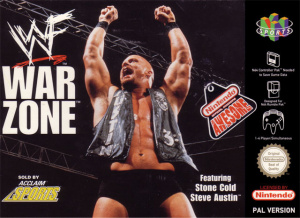 WWF Warzone sur N64