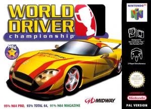 World Driver Championship sur N64