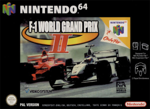 F1 World Grand Prix II sur N64