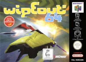 WipEout 64 sur N64