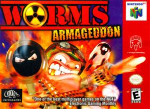 Worms Armageddon sur N64