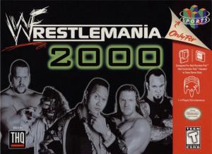 WWF Wrestlemania 2000 sur N64