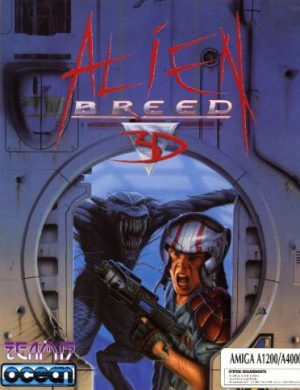Alien Breed 3D sur Amiga