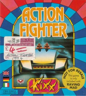 Action Fighter sur Amiga