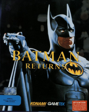 Batman Returns sur Amiga