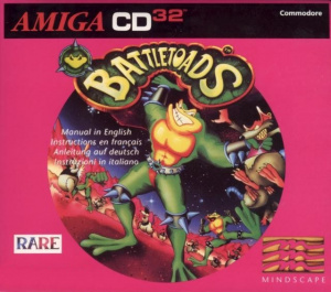 Battletoads sur Amiga