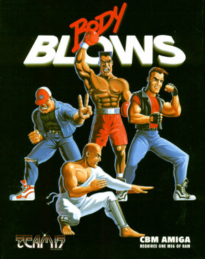 Body Blows sur Amiga