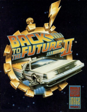 Back to the Future Part II sur Amiga