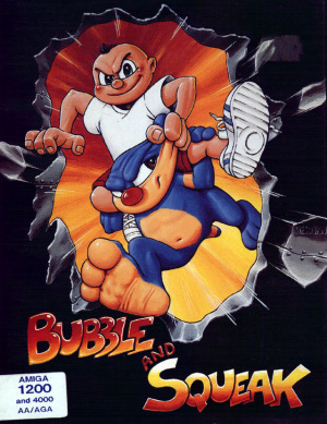 Bubble And Squeak sur Amiga