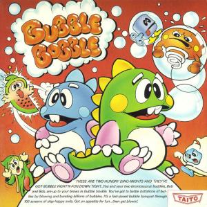 Bubble Bobble sur Amiga