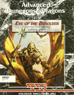 Eye of the Beholder sur Amiga