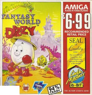 Fantasy World Dizzy sur Amiga