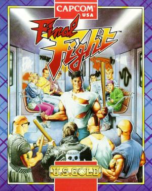 Final Fight sur Amiga