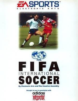 FIFA International Soccer sur Amiga