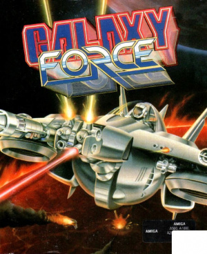 Galaxy Force II sur Amiga
