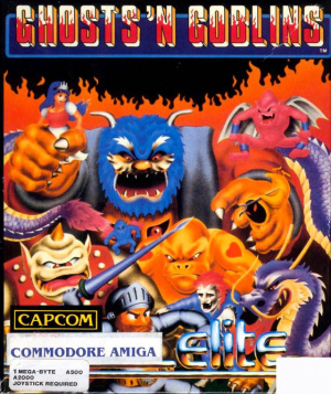 Ghosts'n Goblins sur Amiga