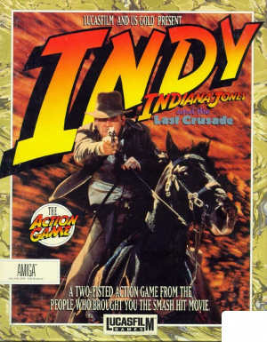 Indiana Jones and the Last Crusade : The Action Game sur Amiga