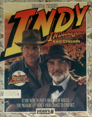 Indiana Jones and the Last Crusade : The Graphic Adventure sur Amiga