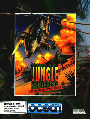 Jungle Strike sur Amiga
