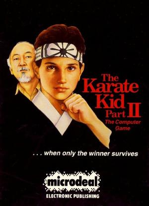 The Karate Kid Part II : The Computer Game sur Amiga