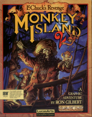 Monkey Island 2 : LeChuck's Revenge sur Amiga