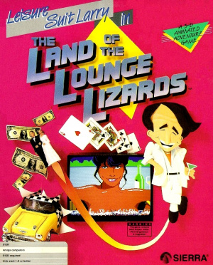 Leisure Suit Larry in the Land of the Lounge Lizards sur Amiga