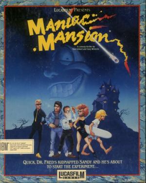 Maniac Mansion sur Amiga