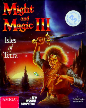 Might and Magic III : Isles of Terra sur Amiga