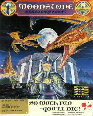 Moonstone : A Hard Days Knight sur Amiga