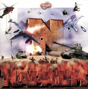 Napalm : The Crimson Crisis sur Amiga